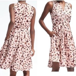 Banana Republic Floral Sleeveless Dress